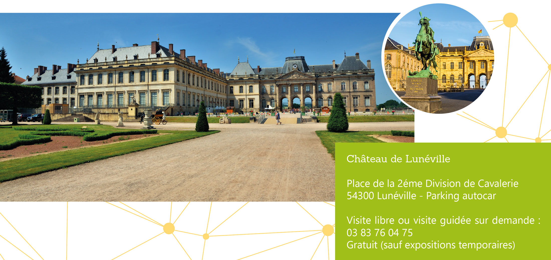infos chateau luneville